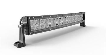 "Picture of F1C - 22"" Curved LED Light Bar - 9,600 Lumens - Spot Beam"