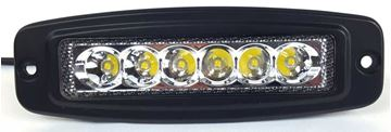 "Picture of 6"" Flush Mount LED Light Bar - 1,080 Lumen"