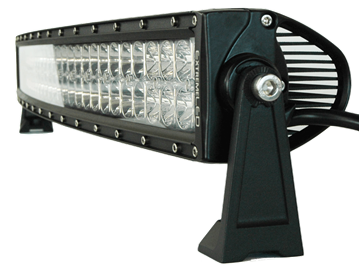 """Picture of Pro-Series 2D 22"""" Curved CREE LED Light Bar - 9,600 Lumens - Combo Beam"""